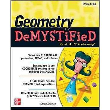 Geometry Demystified Stan Gibilisco Paperback