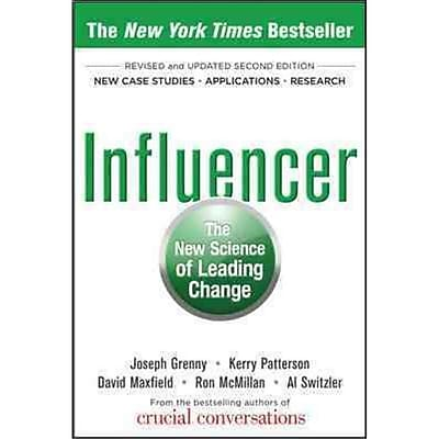 Influencer Joseph Grenny, Kerry Patterson, David Maxfield , Ron McMillan, Al Switzler Hardcover