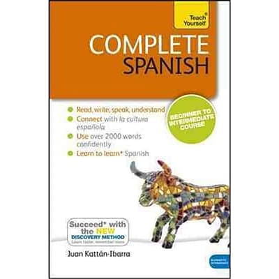 Complete Spanish with Two Audio CDs Juan Kattan-Ibarra Paperback