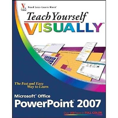 Teach Yourself VISUALLY Microsoft Office PowerPoint 2007 (Teach Yourself VISUALLY (Tech)) Paperback