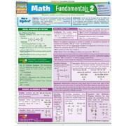 Math Fundamentals 2 (Quickstudy: Academic)