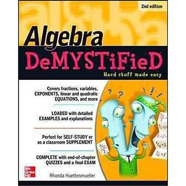 Algebra Demystified Rhonda Huettenmueller Paperback