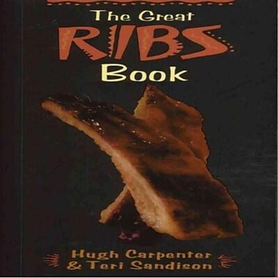 Great Ribs Book Hugh Carpenter , Teri Sandison Hardcover 647174