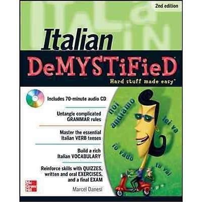 Italian Demystified Marcel Danesi Paperback
