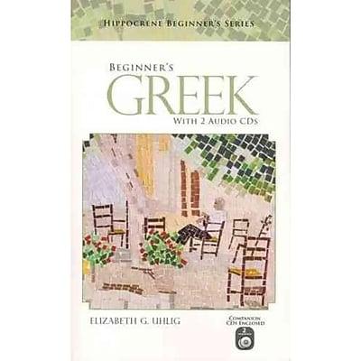 Beginner's Greek with 2 Audio CDs Elizabeth G. Uhlig Paperback