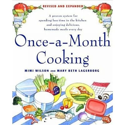 Once-A-Month Cooking Mary Beth Lagerborg, Mimi Wilson Paperback