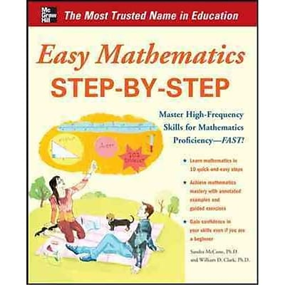 Easy Mathematics Step-by-Step Sandra Luna McCune, William D. Clark Paperback
