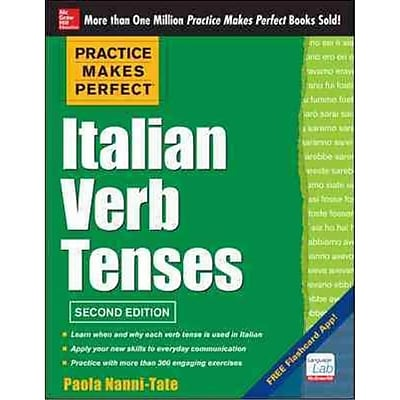 Practice Makes Perfect Italian Verb Tenses Paola Nanni-Tate Paperback