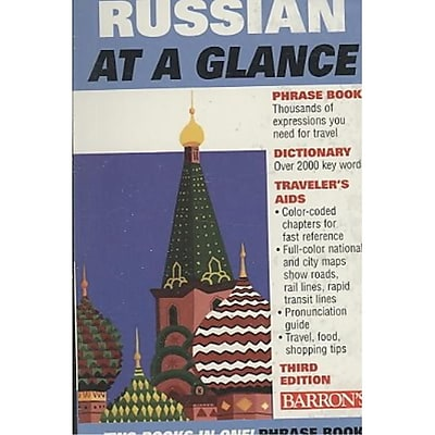 Russian at a Glance: Foreign Language Phrasebook & Dictionary (At a Glance Series)
