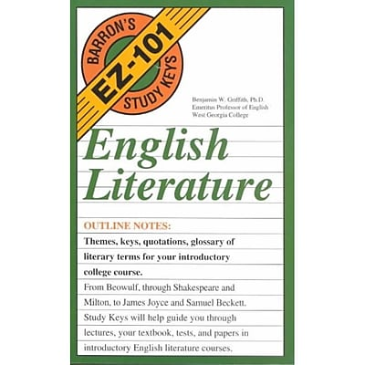 English Literature (Barron's Ez-101 Study Keys)