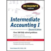 Schaums Outline of Intermediate Accounting I Baruch Englard Paperback