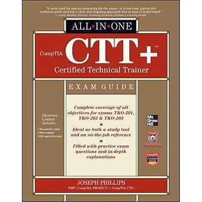 Comptia Ctt+ Certified Technical Trainer Joseph Phillips Hardcover