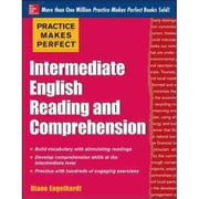 Intermediate English Reading and Comprehension Diane Engelhardt Paperback