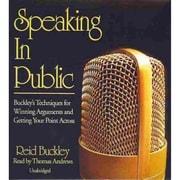 Speaking in Public Reid Buckley CD