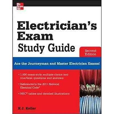 Electrician's Exam Study Guide Kimberley Keller Paperback