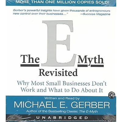 The E-Myth Revisited Michael E. Gerber Audiobook CD