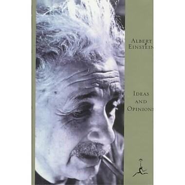 Ideas and Opinions (Modern Library) Albert Einstein Hardcover