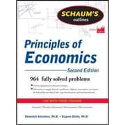 Schaum's Outline of Principles of Economics Dominick Salvatore, Eugene Diulio Paperback