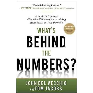 What's Behind the Numbers? John Del Vecchio, Tom Jacobs Hardcover