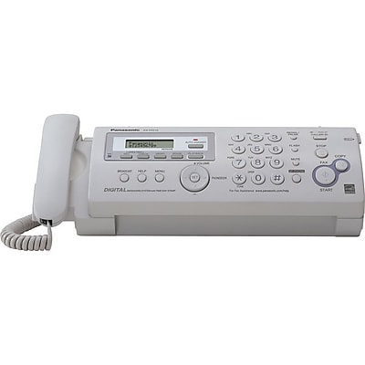 Panasonic Compact Plain-Paper Fax Machine/Copier (KX-FP215)