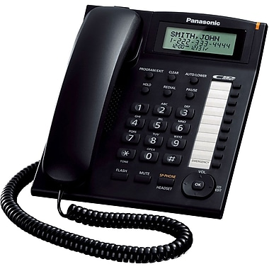Panasonic Kx Ts880 Corded Telephone System W Call Waiting Caller Id 50