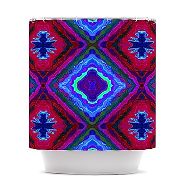 KESS InHouse Kilim Shower Curtain