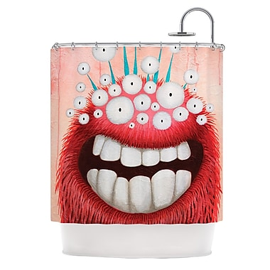 KESS InHouse The LookOut Shower Curtain