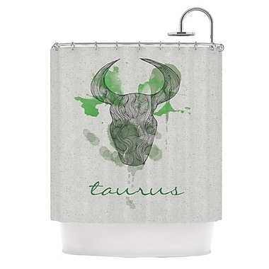 KESS InHouse Taurus Shower Curtain