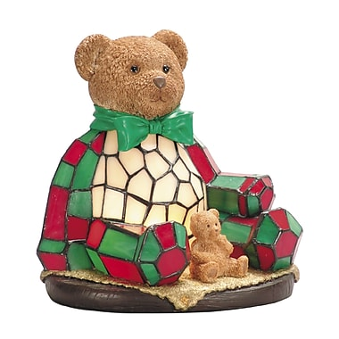 Dale Tiffany Noel Bear Night Table Lamp