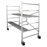 Xtend+Climb 6' H x 56.5'' W x 29'' D Aluminum Round Portable Scaffold w/ 700 lb Load Capacity