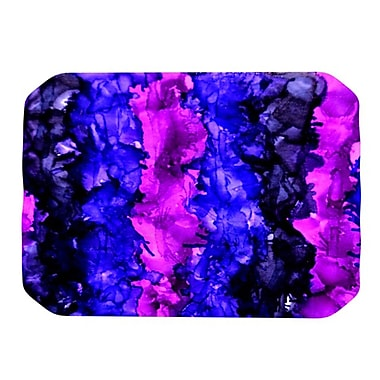 KESS InHouse Drop Placemat; Purple