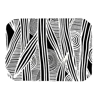 KESS InHouse Graphique Placemat; Black