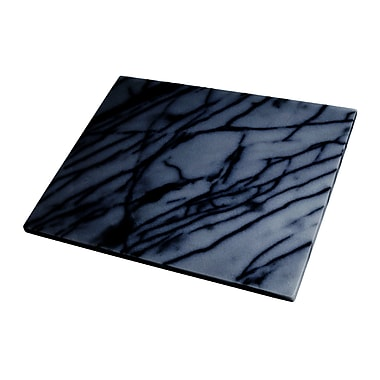 Fox Run Craftsmen Marble Pastry Board in Black