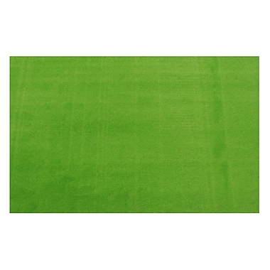 Fun Rugs LA Kids Green Area Rug; 4'3'' x 6'6''