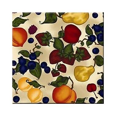 McGowan Tuftop Fruit Collage Trivet