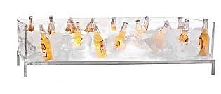 Buffet Enhancements Stainless Steel and Acrylic Beer