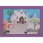Betsy Drake Interiors Church Placemat (Set of 4)