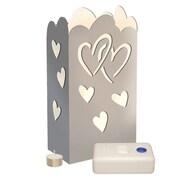 Luminarias Silver Hearts Luminary Kit (Set of 24)