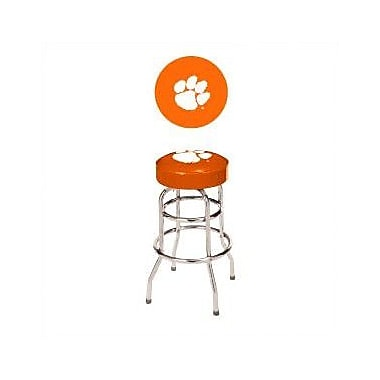Wave 7 NCAA 24'' Bar Stool; Clemson