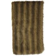 Wooded River Bandera Raccoon Faux Fur Throw