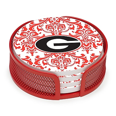 Thirstystone 5 Piece University of Georgia Collegiate Coaster Gift Set