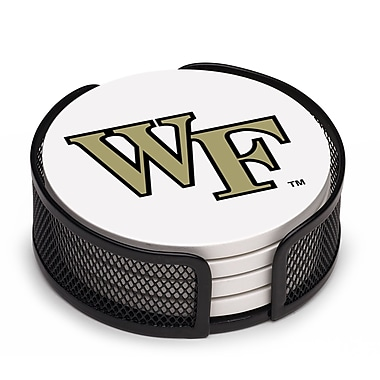 Thirstystone 5 Piece Wake Forest University Collegiate Coaster Gift Set