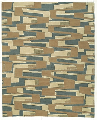 Artisan Carpets Designers' Reserve Blue/Brown Area Rug; 3' x 5'