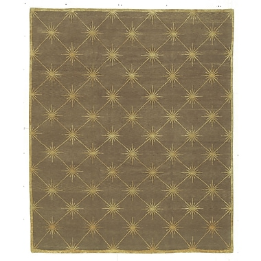 Artisan Carpets Designers' Reserve Brown/Gold Area Rug; 3' x 5'