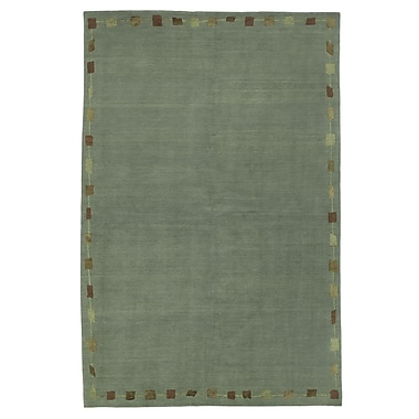 Artisan Carpets Core Green Rug; 3' x 5'