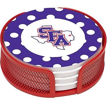 Thirstystone 5 Piece Stephen F Austin University Dots Collegiate Coaster Gift Set
