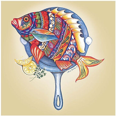 Thirstystone Fish Fry Occasions Trivet