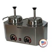 Paragon International Pro-Deluxe Dual Warmer w/ Pumps