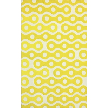 nuLOOM Serendipity Yellow Whinston Area Rug; 3'6'' x 5'6''