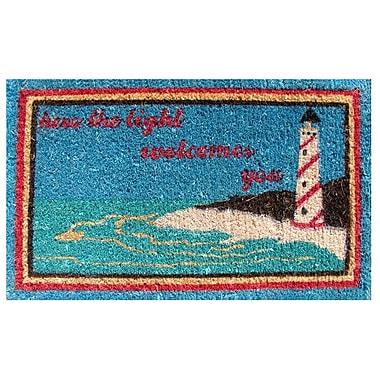 Imports Decor Creel Light House Doormat; Rectangle 18'' x 30''